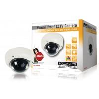 Caméra CCTV à l'épreuve du vandalisme
