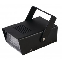 Lumière LED Stroboscope Lampe d'ambiance 24 LED