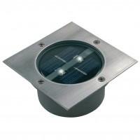 Spot solaire 2 LED Carrée