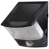 Applique murale solaire 2 LED Noir