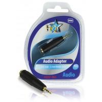 Adaptateur audio mâle de 2.5mm - femelle stéréo de 3.5mm