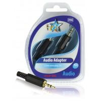 Fiche audio 3.5 mm mâle stéréo (x2)