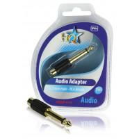 Adaptateur audio 6.35mm mâle - RCA femelle