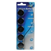 Piles lithium CR2450 3V