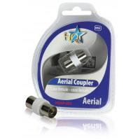 Câble coaxial Videocoupler femelle - femelle coaxiale
