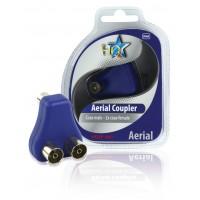 Câble coaxial Videocoupler mâle - femelle coaxiale 2x