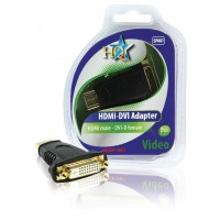 Adapter HDMI male - DVI female