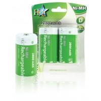 Batteries NiMH D/LR20 1.2 V 2800 mAh 2-blister