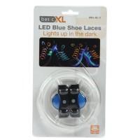 Lacets LED bleus