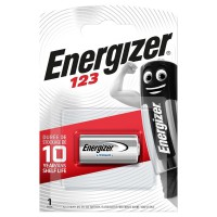 Batterie au lithium CR123A 3 V 1-Blister