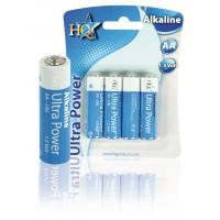 Piles alcalines AA 1.5 V 4pcs/blister
