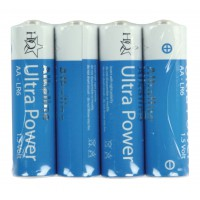 Piles alcalines AA 1.5 V 4pcs/sous blister