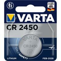 Pile bouton au Bouton Lithium CR2450 3 V 1-Blister