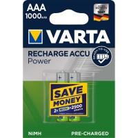 Batterie Rechargeable NiMH AAA 1.2 V 1000 mAh 2-Blister