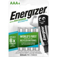 Batterie Rechargeable NiMH AAA 1.2 V Extreme 800 mAh 4-Blister