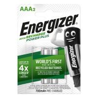 Batterie Rechargeable NiMH AAA 1.2 V Power Plus 700 mAh 2-Blister
