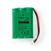 Batterie Nickel Métal-Hydrure | 3,6 V | 600 mAh | Connecteur Câblé