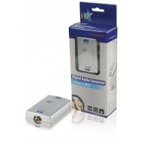 Convertisseur audio numérique Toslink vers RCA.