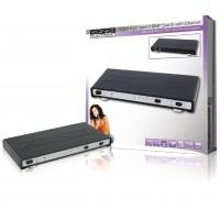 Commutateur HDMI haute vitesse 4 ports avec Ethernet et canal de retour audio