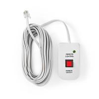 Télécommande de Convertisseur d'Alimentation | pour Convertisseurs Sinusoïdaux Modifiés de Nedis | Câble de 5,00 m
