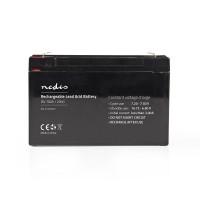 Batterie au Plomb-acide 6 V | 10 000 mAh | 151 x 50 x 95 mm