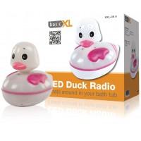Radio de bain en forme de canard avec LED