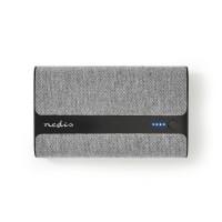 Batterie Portable en Tissu | 15 000 mAh | 2 Ports USB-A 2 A (max.) | Gris