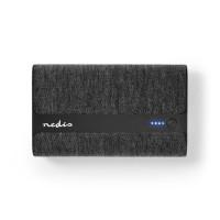 Batterie Portable en Tissu | 15 000 mAh | 2 Ports USB-A 2 A (max.) | Noir
