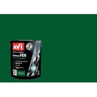 AVI Peinture pour fer - Vert cloture brillant - 2 L