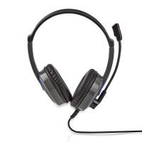 Casque Gamer | Tour d'oreille | Microphone | Connecteurs 3,5 mm