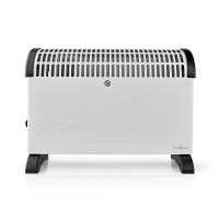 Radiateur Convecteur | Thermostat | Fonction Ventilateur | 3 Réglages | 2 000 W | Blanc