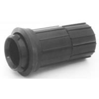 Adaptateur de Tube pour aspirateur Noir