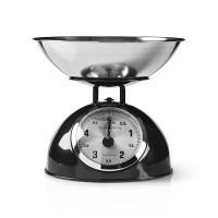 Balance de cuisine rétro | Analogique | Métal | Noir