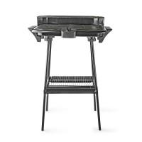 Barbecue Électrique | Rectangulaire | 46 x 28 cm | 2 000 W