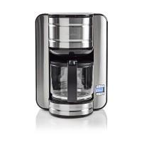 Machine à café   Jusqu'à 12 Tasses   Minuteur de 24 Heures   Acier Inoxydable