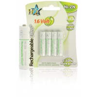 Batteries AAA Ni-ZN 1000 mWh