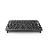Repose-pied   ergonomique  Plastique  Noir