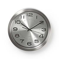 Horloge Murale Circulaire   30 cm de Diamètre   Acier Inoxydable