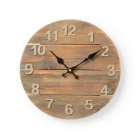 Horloge Murale Circulaire   30 cm de Diamètre   Bois