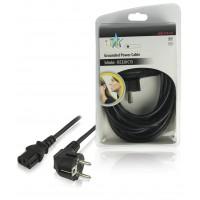 Câble d'alimentation Schuko - IEC320 C13 5.00 m