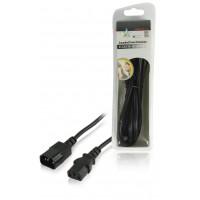 Câble d'extension alimentation IEC320 C14 - IEC320 C13 1.80 m
