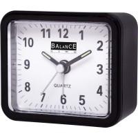 Balance   Alarm Clock   Analogue   Black