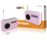 Radio FM portable rose