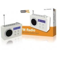 radio FM portable blanche