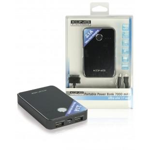Puissance bancaire USB portable 7000 mAh