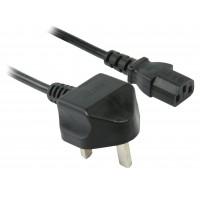Câble d'alimentation pour prise anglaise - IEC320 C13 2,50 m
