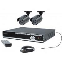 Ensemble de sécurité avec DVR 500 Gb et 2 caméras