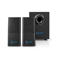 Haut-parleurs de jeu | 2.1 | Alimentation par USB | prise 3,5 mm | RMS 11 W