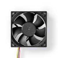 Ventilateur de Refroidissement pour Ordinateur | DC | 80 mm | 3 Broches | Silencieux