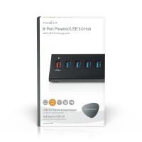 Hub USB | 8 Ports | Alimentation USB 3.0 | QC3.0 | 5 Gbit/s
